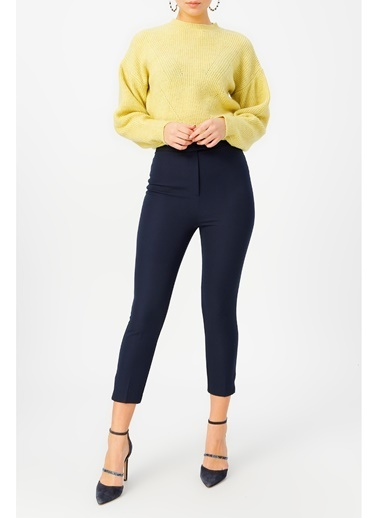 Random Kadın Klasik Kesim Pantolon Siyah